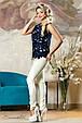 Блуза 2161 синий, фото 6