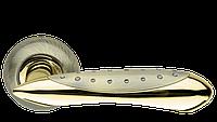 Ручка дверная на розетке Armadillo Corvus бронза (Китай)
