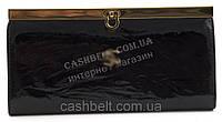 Классический женский кожаный лаковый кошелек высокого качества art. C-32414 черный