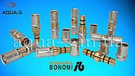 Муфта соединительная Ø16х16 под пресс Bonomi (для металлопластиковых труб)