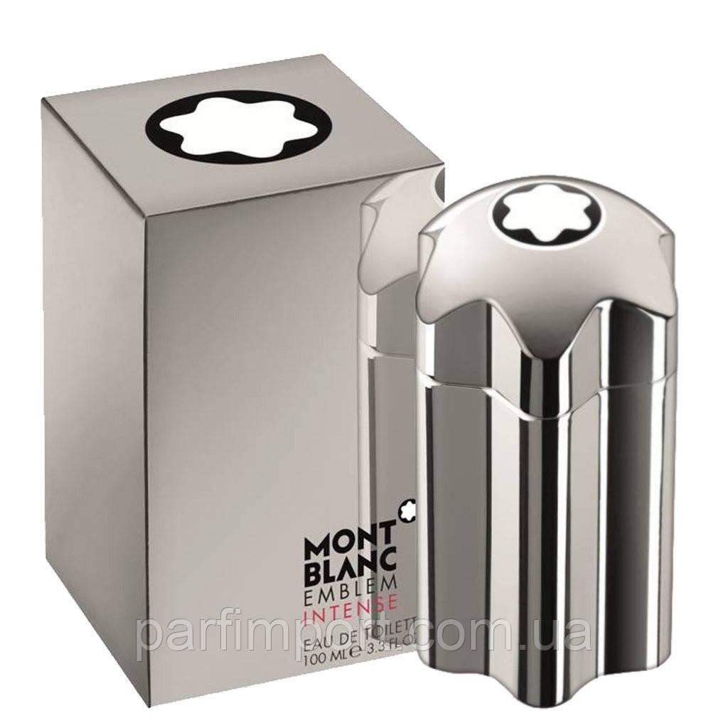 MONT BLANC EMBLEM INTENCE EDT 100 ml  туалетная вода мужская (оригинал подлинник  Франция)