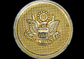 Украшение круглое 605 золото