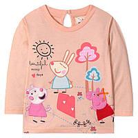 Легкая кофта на весну для девочки от 2 до 7 лет (хлопок, застегивается сзади на пуговицу) ТМ Jumping Beans
