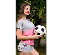 Женский летний спортивный костюм в расцветках
