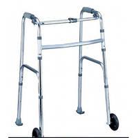 Ходунки для инвалидов складные 2 колеса NOVA B4081