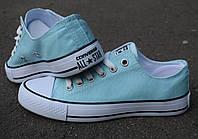 Мятні кеди Converse