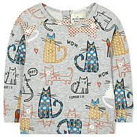 Легкая кофта на лето для девочки от 2 до 7 лет (хлопок, застегивается сзади на пуговицы) ТМ Jumping Beans