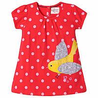 Летнее платье на каждый день для девочки от 2 до 7 лет (хлопок) ТМ Jumping Beans