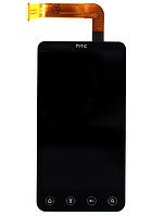Оригинальный дисплей (модуль) + тачскрин (сенсор) для HTC Evo 3D X515m (черный цвет)