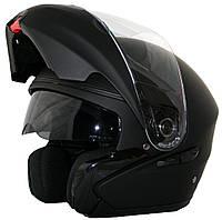 Мотоциклетный шлем NAXA F02b r.XS + BLENDA Черный матовый, фото 1