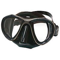 Купить маску для подводного плавания SPETTON SYNCRO BLACK двухстекольная спетон синкро блек