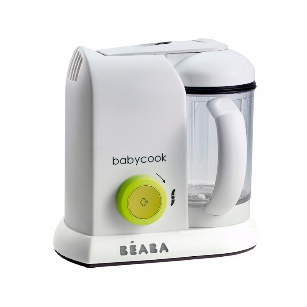 Beaba - Пароварка-блендер Babycook Solo, neon