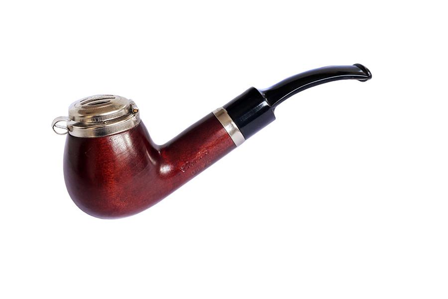 Курительная трубка B&B груша 019 A (фильтр 9 мм)
