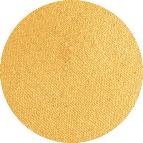 Аквагрим Superstar перламутровый золотой с блёстками, фото 2