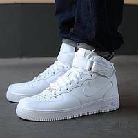 "Nike Air Force 1 Mid ""White"""
