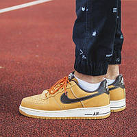 """Nike Air Force 1 Low """"Boot"""" Wheat & Baroque Brown"""