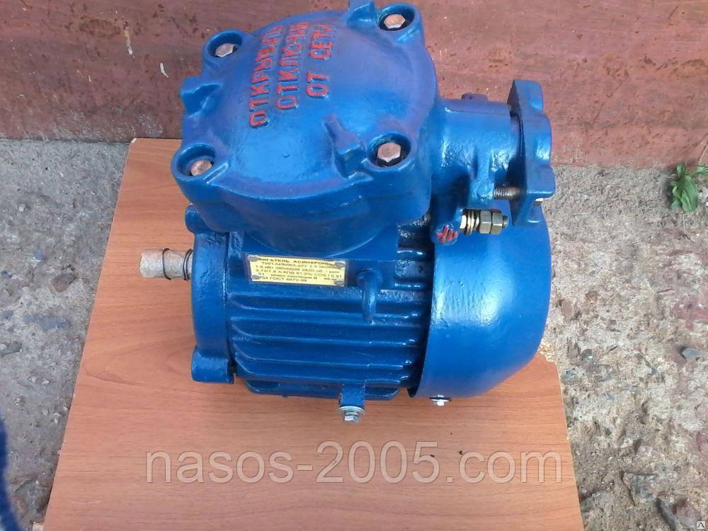 Взрывозащищенный электродвигатель АИУ 90 LВ6 1,1 кВт 1000 об/мин