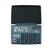 Калькулятор Assistant, 1152-AC, 8 розр, кишеньковий, 58х87х10 мм