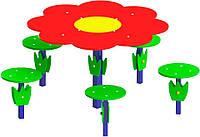 "Столик ""Поляна"", диаметр стола 67см"