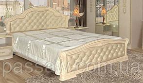 Кровать с ортопедическим каркасом  Венеция новая пино беж 1.8