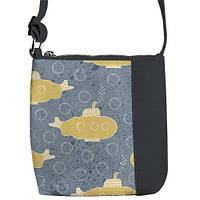 """Сумка детская через плечо SE с принтом """"Подводная лодка"""", сумки для девочек"""
