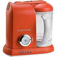 Beaba - Пароварка-блендер Babycook Solo, paprika