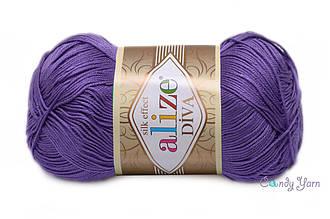 Alize Diva , Фиолетовый №622