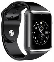 Умные часы Smart Watch A1 Black, фото 2