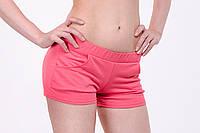 Женские спортивные шорты из плотного трикотажа двунитка