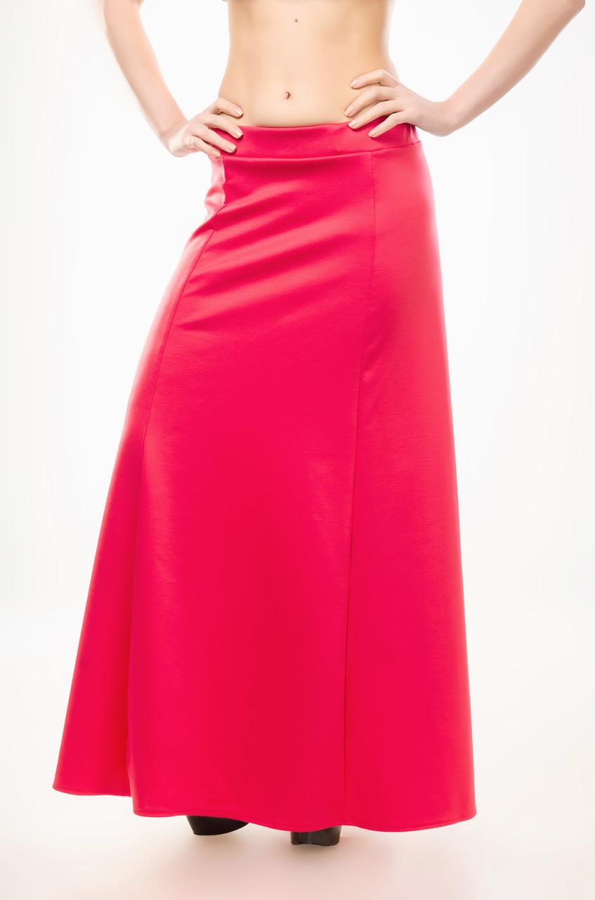 082bc92038d Женская юбка в пол (макси) из французского трикотажа