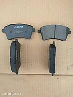 Колодки тормозные передние RENAULT Kangoo II 08-16 C1R042ABE