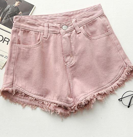 джинсовые шорты америнки