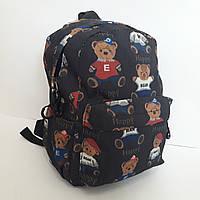 Модный женский рюкзак с медвежатами 14 л, фото 1