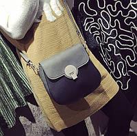 Комбинированная женская сумка в стиле Chloe