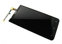 Оригинальный дисплей (модуль) + тачскрин (сенсор) для HTC One XC X720d (черный цвет)
