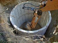Канализация септики ямы приямки колодцы Рытье копка устройство монтаж