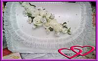"""Свадебный сундук для денег """"Ветка розы"""""""