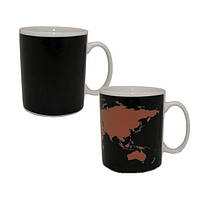 Чашка Карта мира
