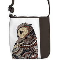 """Сумка детская через плечо MBR с принтом """"Пингвин"""", сумки для девочек"""