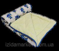 Меховое полуторное одеяло - ткань полиестр