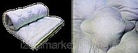 Одеяла силиконовые ткань однотонная микрофибра полуторка