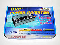 Инвертор преобразователь напряжения Power Inverter UKC 1500W 12V в 220V, фото 5