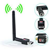 Качество! Скоростной USB WIFI 150M 802.11n мини Wi-fi адаптер с антенной, Хит продаж