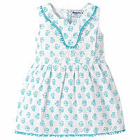 Повседневное летнее платье для девочки с 9 месяцев до 4 лет (Размер: 70-100, хлопок) ТМ Jumping Beans