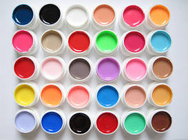 Цветные гели (гель-краски) СОСО