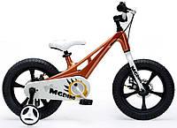 "Детский велосипед RoyalBaby 14"" Mgdino gold, Dragon Style, Official UA"