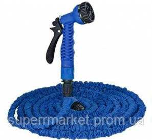 ШЛАНГ садовый X-Hose 45m 150ft steel  Magic Hose , синий
