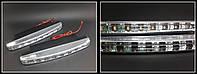 Дневные ходовые огни 16см - DRL Safety белые (ДХО DRL 018)
