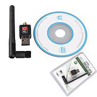 Качество! Скоростной USB WIFI 150M 802.11n мини Wi-fi адаптер с антенной, В наличии