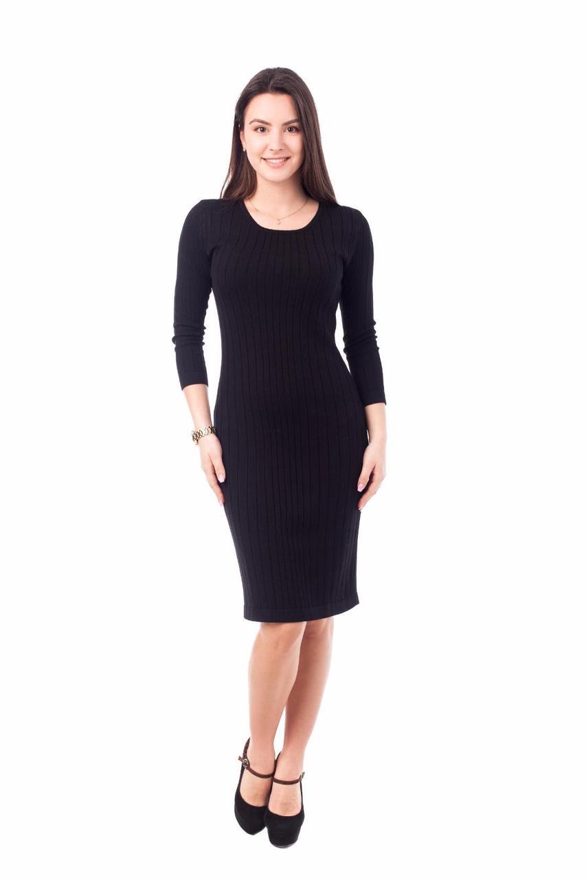 фото черное платье строгое